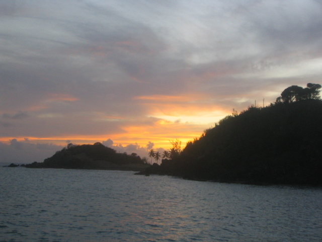 Beautiful Carlisle Bay Sunset