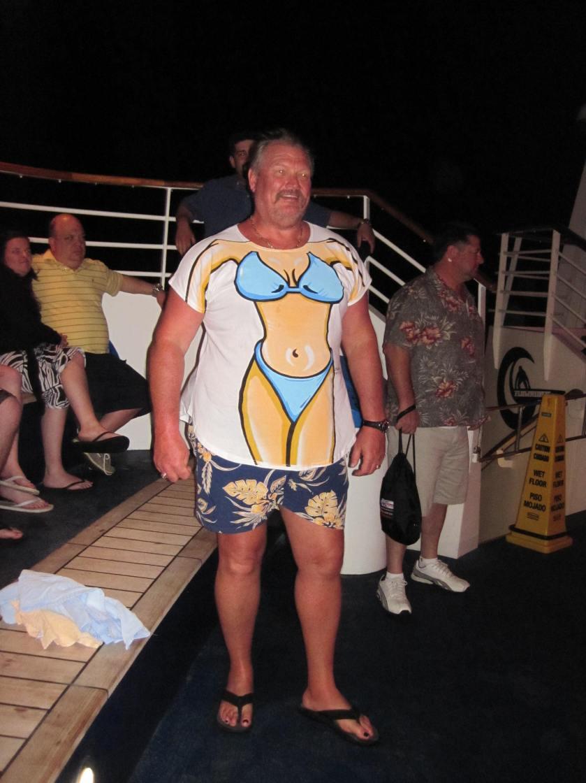 Pirate always dresses to impress...