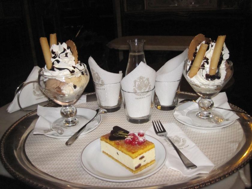 Desert time at Cafe Florian