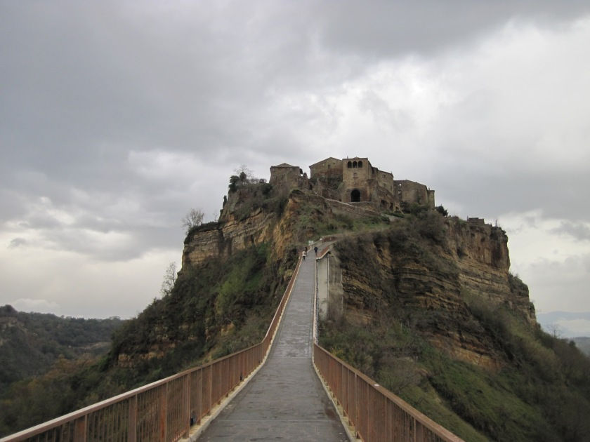 "Ominous-looking ""Dying City"" of Civita"