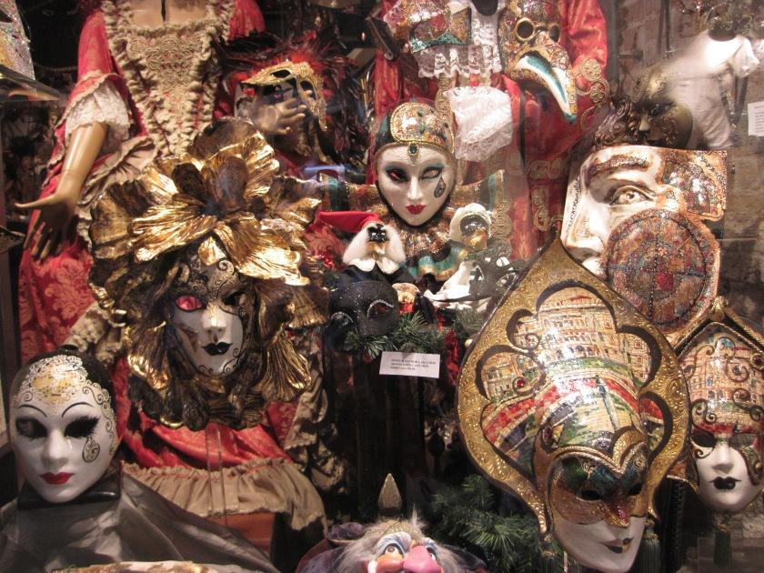 Venice window shopping
