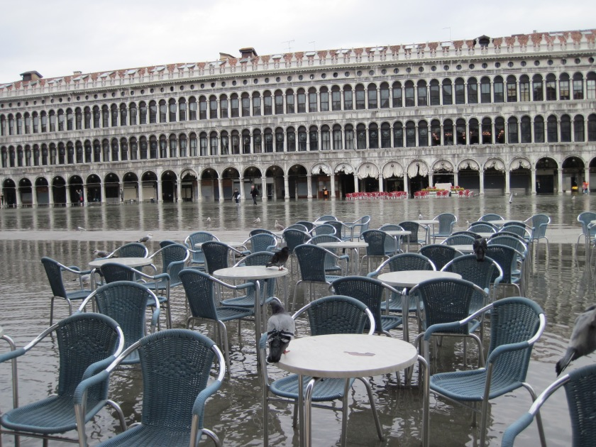 High water in St Marks Square