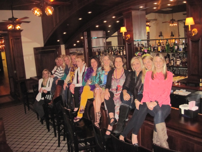 All the ladies at Galatoires...