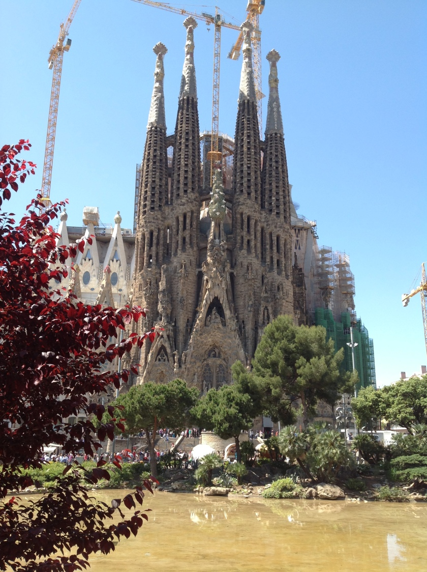 Sagrada Familia from afar.