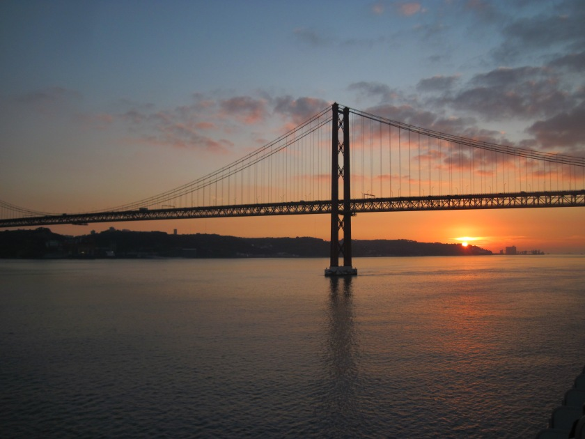 Sunset on the Tagus River