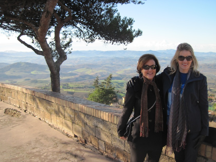 Cajun and Karyn in Volterra