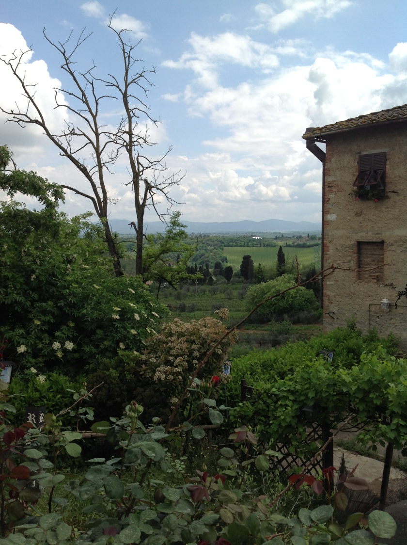 Beautiful views from San Gimignano