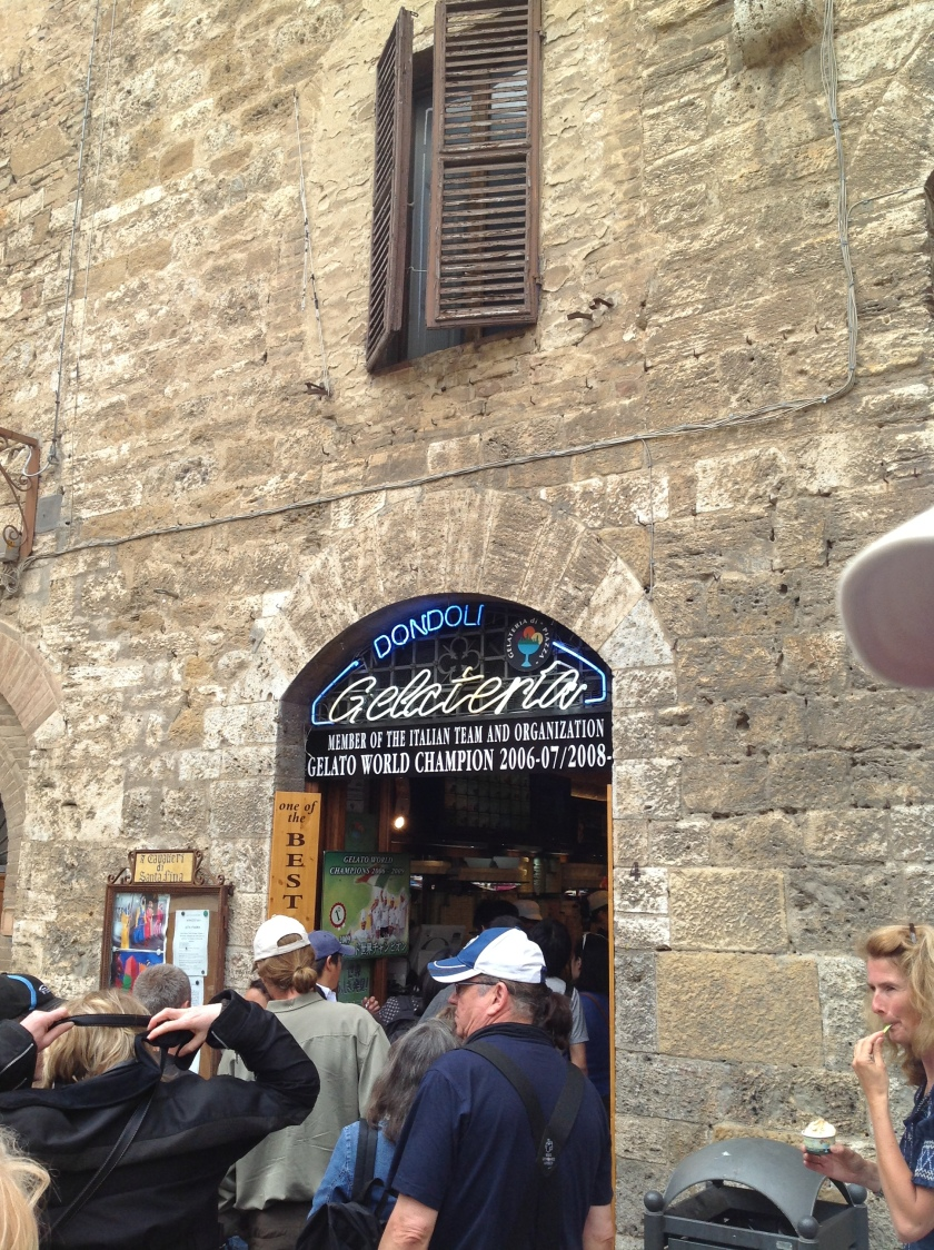 World's best gelato!