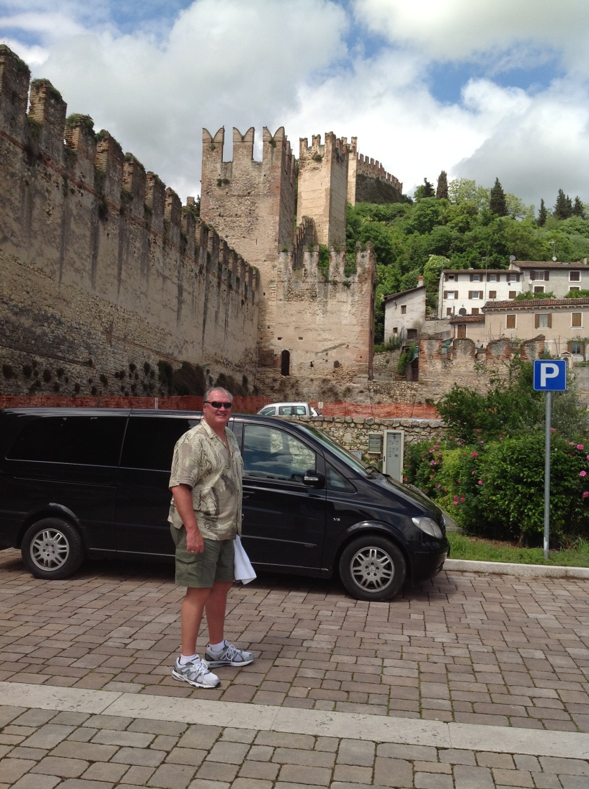 Pirate near Soave Castle