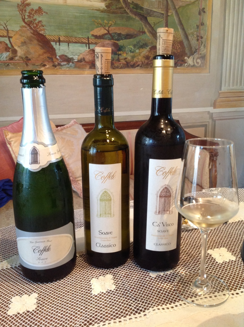 Soave wines from Coffele