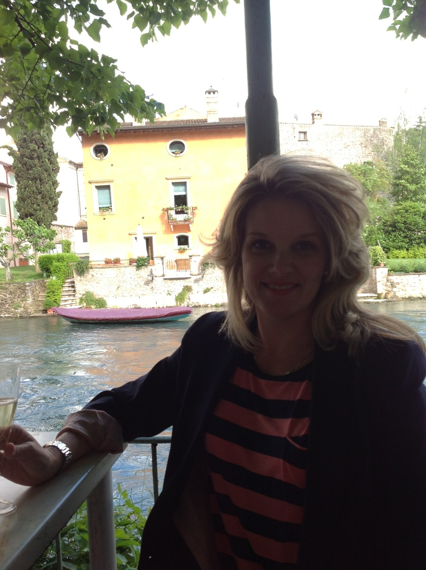 Birthday girl in Borghetto