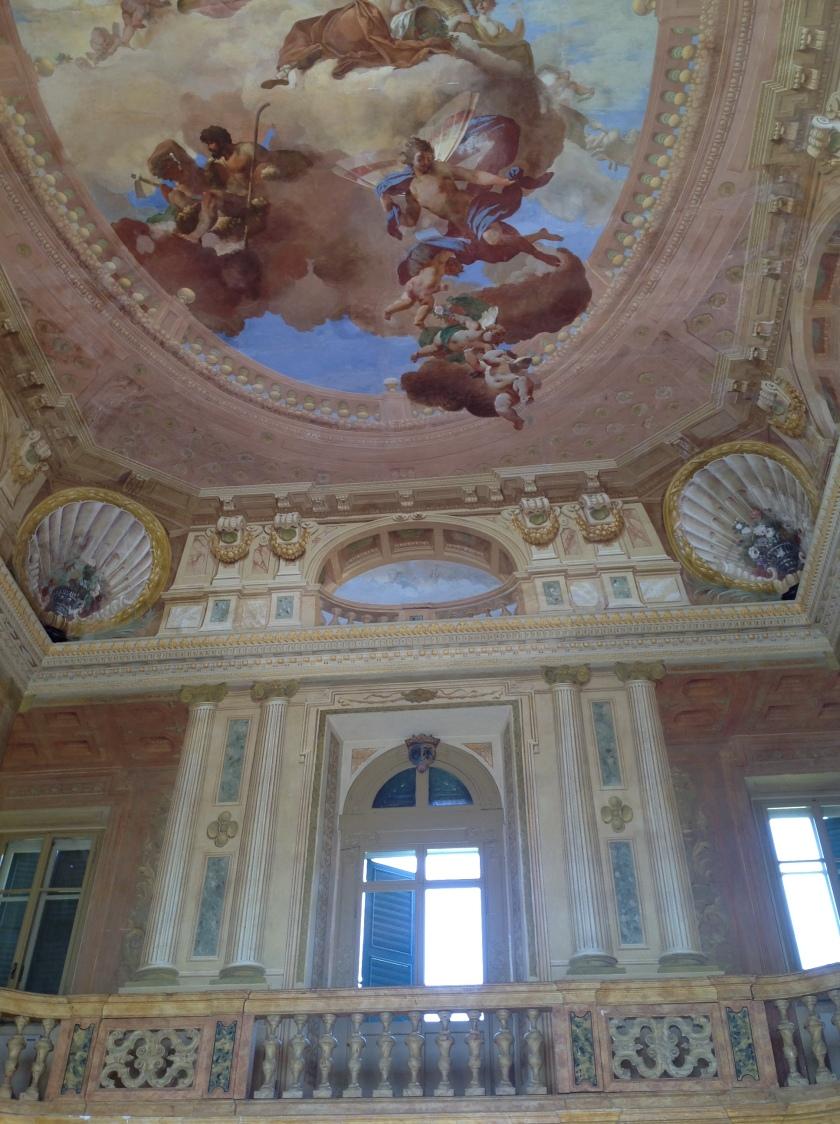 Inside Bertani's grand parlour
