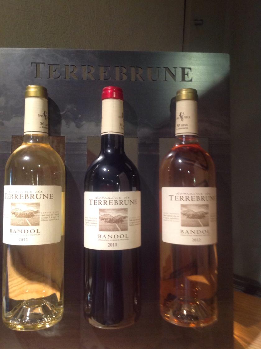 Bandol winery Terrebrune