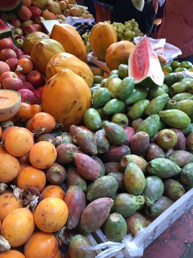 An abundance of fruit